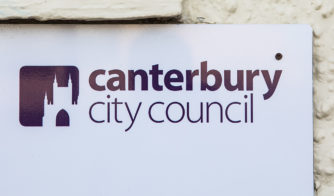Canterbury City Council sign