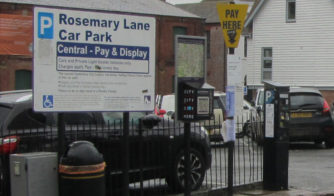 Rosemary Lane car park
