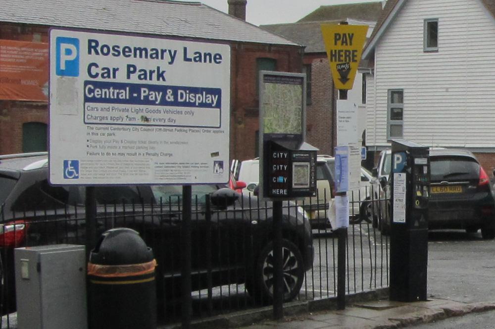 Rosemary Lane car park