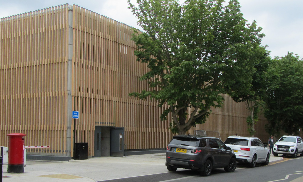 Canterbury West Multistorey Car Park